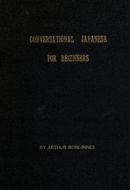 Download conversational japanese for beginners pdf book