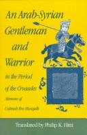 Download An Arab-Syrian gentleman and warrior in the period of the Crusades