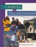 Download Choices in Relationships