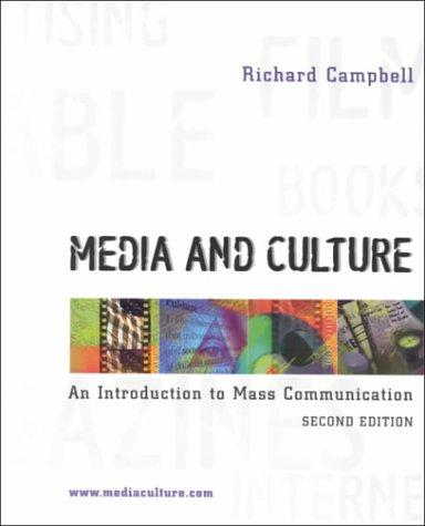 Download Media and Culture