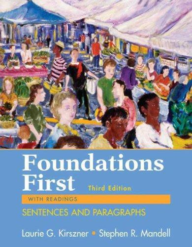Foundations First with Readings