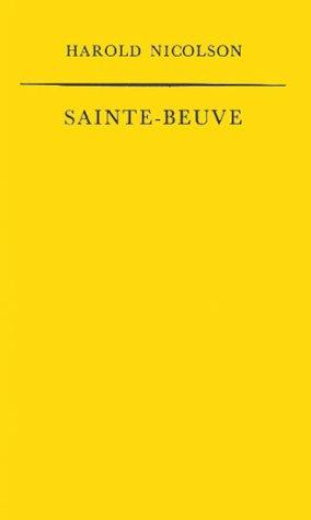 Download Sainte-Beuve
