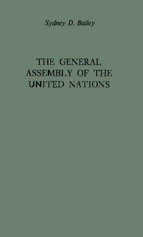 The General Assembly of the United Nations