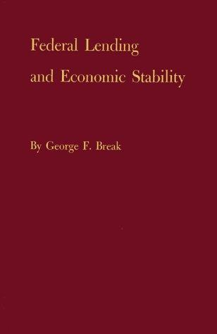 Federal lending and economic stability