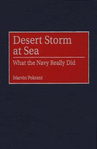 Desert Storm at sea by Marvin Pokrant