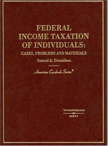 Download Federal Income Taxation of Individuals