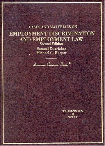Download Cases and materials on employment discrimination and employment law
