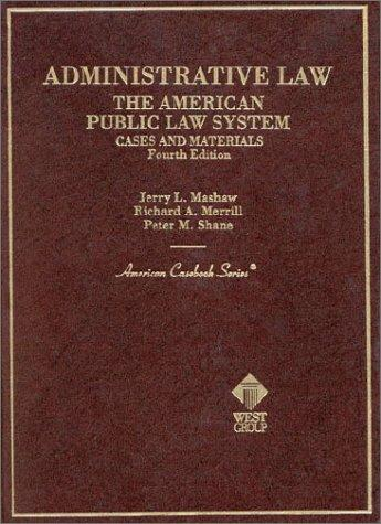 Download Administrative law, the American public law system