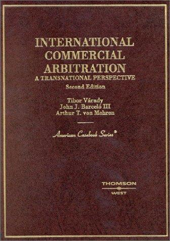 Download International commercial arbitration