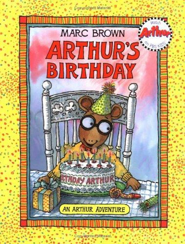 Arthur's birthday by Marc Tolon Brown