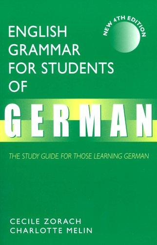 Download English Grammar for Students of German