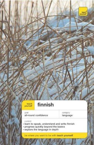 Download Teach Yourself Finnish (Teach Yourself Complete Courses)