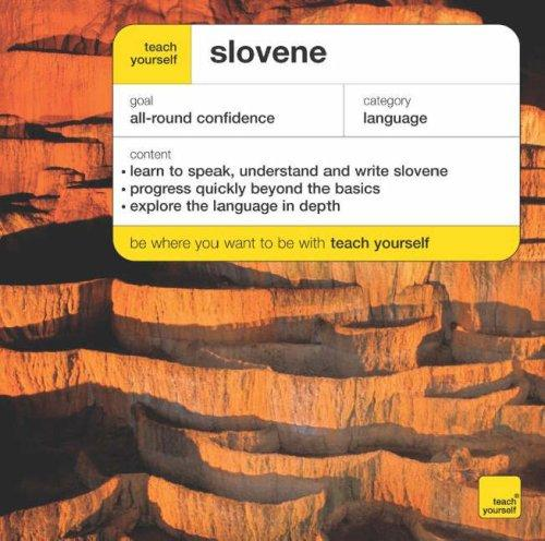 Download Teach Yourself Slovene (Teach Yourself Complete Courses)