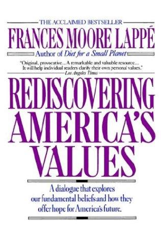 Download Rediscovering America's values