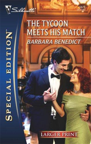 Download The Tycoon Meets His Match (Larger Print Silhouette Special Edition)