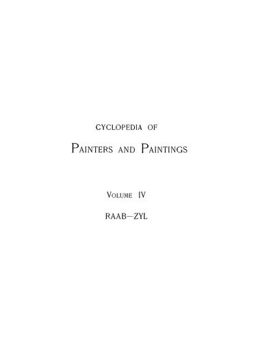 Download Cyclopedia of painters and paintings