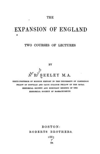 Download The expansion of England