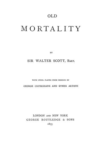 Download Old mortality