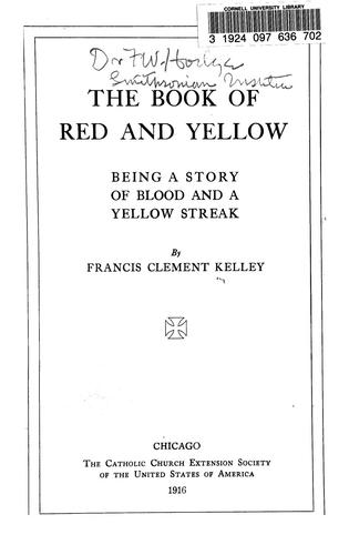 Download The book of red and yellow