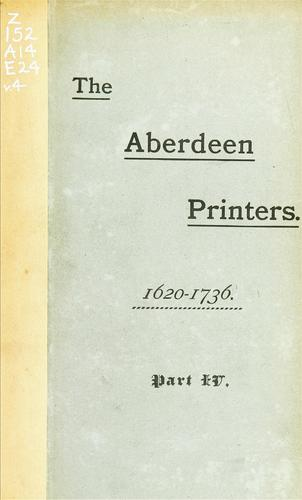 Download The Aberdeen printers