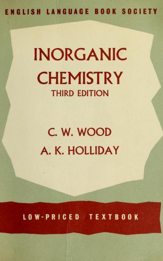 Inorganic chemistry by Cyril Warcup Wood