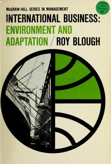 International business by Roy Blough