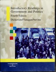 Cover of: Introductory readings in government and politics   M. O. Dickerson, Flanagan, Thomas, Neil Nevitte