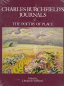Charles Burchfield's journals by Charles Ephraim Burchfield