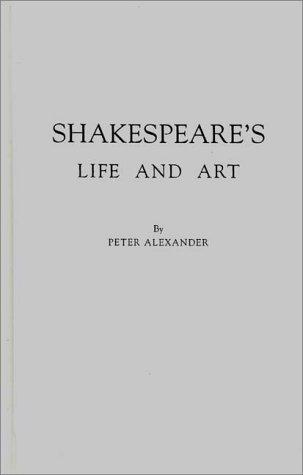 Shakespeare's life and art