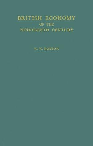 British economy of the nineteenth century