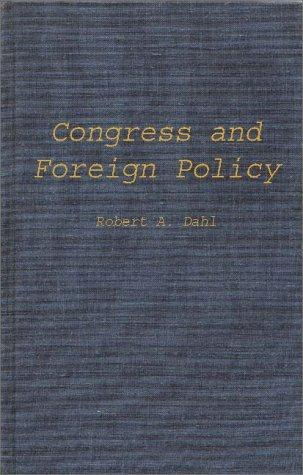 Congress and foreign policy