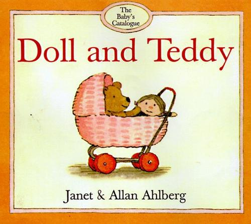 Doll and teddy by Janet Ahlberg