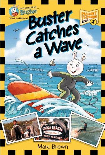 Buster catches a wave by Marc Tolon Brown