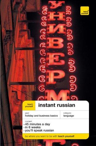 Instant Russian (Teach Yourself Languages)