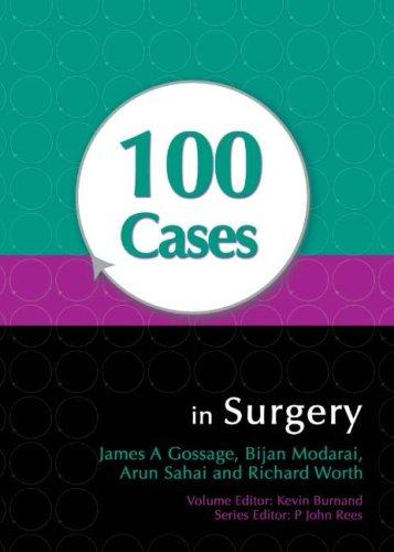 100 Cases in Surgery by Richard Worth