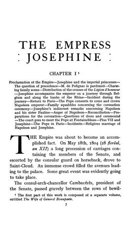 The Empress Josephine by Joseph Turquan